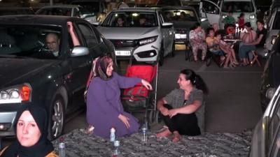 tedbirler -  Arabada sinema keyfine yoğun ilgi
