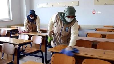Eyüpsultan'da okullar eğitime hazır hale getiriliyor
