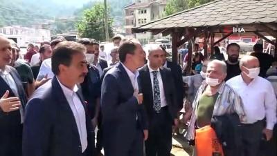 """afet bolgesi -  Fatih Erbakan: """"Afet bölgesinde çok hummalı, ciddi derecede bir çalışma yürütülüyor"""" Videosu"""