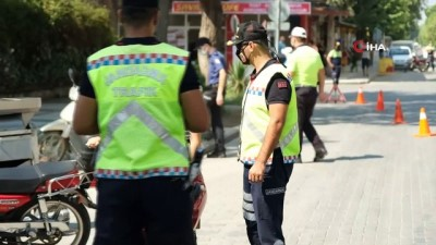 - Manisa'da jandarma ve emniyetten ortak trafik denetimi
