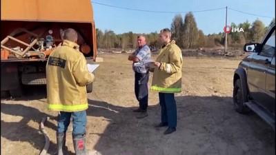 orman yanginlari -  - Rusya'daki orman yangınları yerleşim alanlarına sıçradı