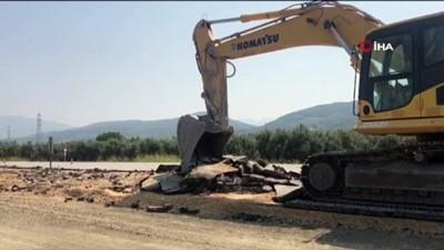 fabrika -  TOGG yolundaki yeni asfaltın kazılmasına tepki