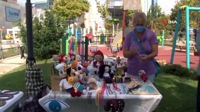 ekonomi -  Ataşehir'de el emeği ürünlerin satıldığı 'Kadın Emeği Pazarı' açıldı