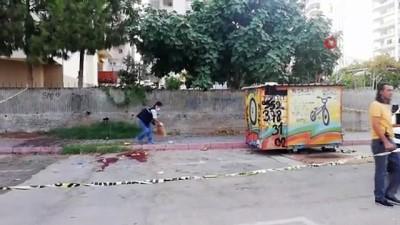 cocuk parki -  Çocuk parkının önünde bıçaklanarak öldürüldü