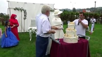 orman yanginlari -  Düğünde alkış alan hareket...Düğün pastasının bahşişini, orman yangınlarında mağdur olanlara bağışladı