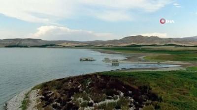 kuraklik -  Elazığ'da kuraklık nedeni ile sular çekildi: 75 yıllık okul gün yüzüne çıktı Videosu