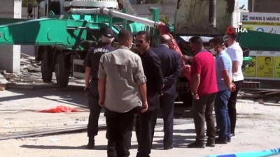 cokme -  Konya'da beton dökülürken kalıp çöktü: 3 yaralı