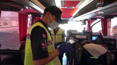 tedbirler -  Riskli gruptaki yabancı uyruklu iki kardeş, otobüste seyahat ederken yakalandı