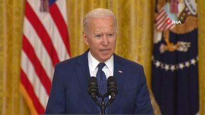 saygi durusu -  - ABD Başkanı Biden: 'Saldırıyı gerçekleştirenlere bedelini ödeteceğiz'