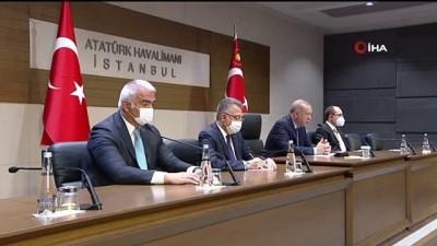"""Cumhurbaşkanı Erdoğan: """"Taliban 'Havaalanı işletmesini siz yapın' diyor, ama daha karar vermedik"""""""