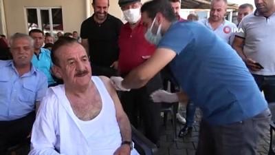 """asi -  Hasköy ilçesinde """"aşı"""" seferberliği"""