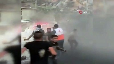 protesto -  - İsrail güçleri, Batı Şeria'da 94 Filistinliyi yaraladı