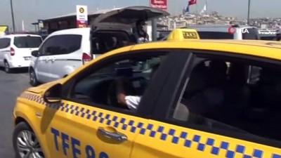 emniyet kemeri -  İstanbul'da taksilere yönelik denetimler sürüyor