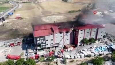 fabrika -  Kayseri'de korkutan fabrika yangını