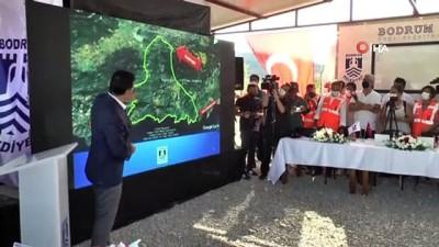 Kılıçdaroğlu, Bodrum'da yanan bölgeleri inceledi