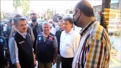 Tarım ve Orman Bakanı Bekir Pakdemirli Türkeli'de