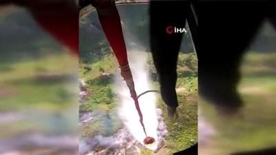 - Azerbaycan'ın Gebele ilinde orman yangını çıktı