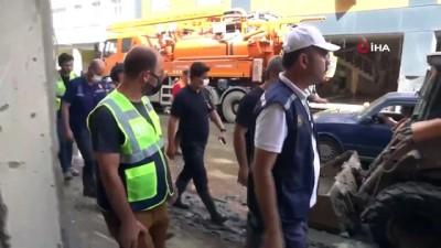 afet bolgesi -  Bakan Kurum afet bölgesinde incelemelerde bulundu Videosu