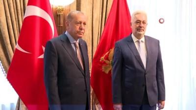 - Cumhurbaşkanı Erdoğan, Karadağ Başbakanı Krivokapiç'i kabul etti