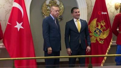 - Cumhurbaşkanı Erdoğan, Karadağ Parlamento Başkanı Beçiç'i kabul etti