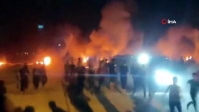 goz yasartici gaz -  - İsrail güçleri Gazze sınırındaki protestoya müdahale etti: 2'si ağır 11 yaralı