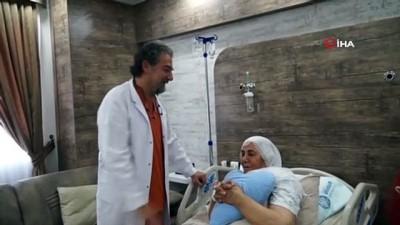 Kalp krizi geçiren koronavirüs hastası entübe edilmeden bypass ameliyatıyla hayata döndürüldü