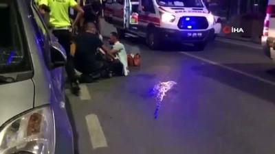 gozalti -  Kendilerini uyaran bekçilere saldırdılar: 1'i bekçi 2 yaralı