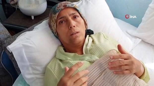 koronavirus -  Komşusu tarafından dövülen mağdur kadın Cumhurbaşkanına seslendi