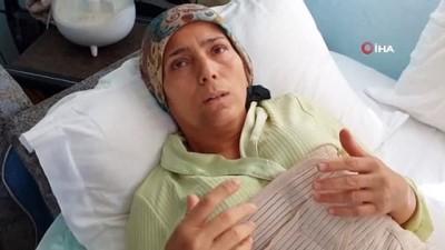 Komşusu tarafından dövülen mağdur kadın Cumhurbaşkanına seslendi