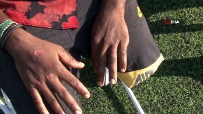 futbol -  Pendik'te İETT şoförü, otobüsteki engelli futbolcuları darp etti