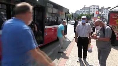 halk otobusu -  Samsun'da toplu ulaşıma 'toplu zam'