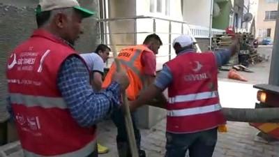 goc -  Taşradaki göç personeli afetzedelere yardım için Sinop'ta