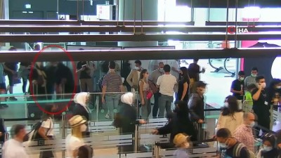 sinir disi -  Türkiye'den 3 kez sınır dışı edilen DEAŞ'lı havalimanında sahte pasaportla yakalandı...O anlar kameralara yansıdı