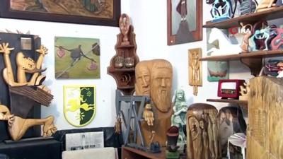 ekonomi -  20 yıldır ahşabı sanat eserine dönüştürüyor