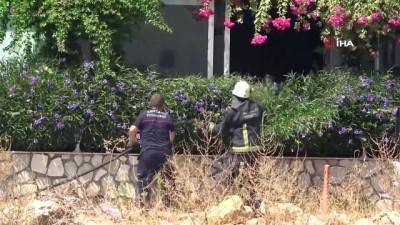 yangin -  Balık restoranında baca yandı, vatandaşlar meraklı gözlerle izledi