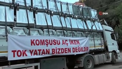 afet bolgesi -  ÇOKAP'tan sel afatından zarar görenlere konteyner desteği Videosu
