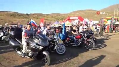 Erciyes Motofest devam ediyor