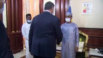 - Prof. Dr. Polat'a Çad'da devlet nişanı verildi - KBÜ Rektörü Prof. Dr. Polat devlet nişanı ile onurlandırıldı