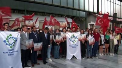 zam -  Zafer Treni Ankara'dan 99 gençle harekete geçti Videosu