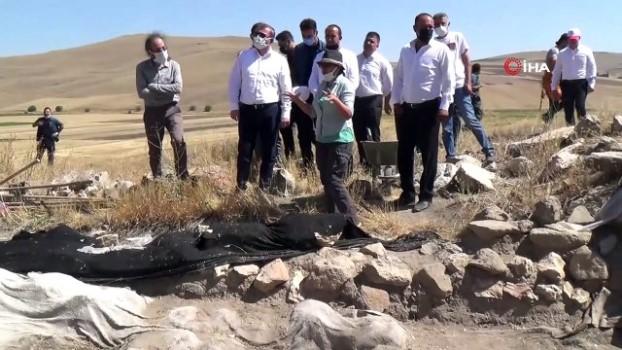 restorasyon -  5 bin 500 yıllık Çadır Höyük'te kazı çalışmaları başladı
