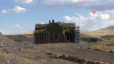 restorasyon -  Anadolu'nun ilk Türk camisinden ezan sesi yankılandı