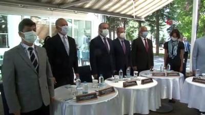 """Eskişehir'de 3 üniversitenin rektörleri """"Tercihim Eskişehir"""" platformunu tanıttı"""