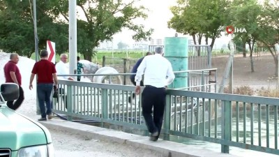 a haber -  Sulama kanalına düşen adam 5 gündür bulunamadı