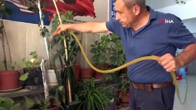 25 yıllık fedakar eğitimci, tatil gününde öğrencileri için kolları sıvadı