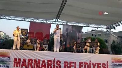 30 Ağustos Zafer Bayramı Marmaris'te coşkuyla kutlandı