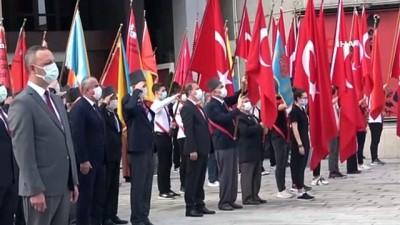 kahramanlik -  30 Ağustos Zafer Bayramı'nın 99. yılı törenle kutlandı Videosu