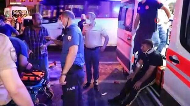fabrika -  7 işçinin yaralandığı kazanın görüntüleri ortaya çıktı