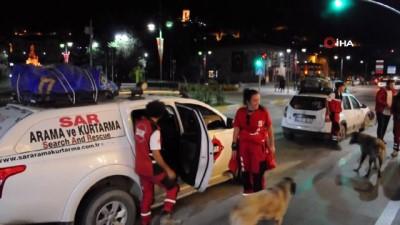 afet bolgesi -  Adana'daki yangından çıkıp afet bölgesinin yardımına koştular Videosu