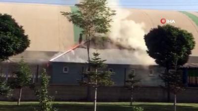 yuksek gerilim -  Ağrı'da yüksek gerilim hattında meydana gelen patlama yangına neden oldu