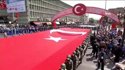 zam -  Başkent'te 30 Ağustos Zafer Bayramı kortej yürüyüşü Videosu